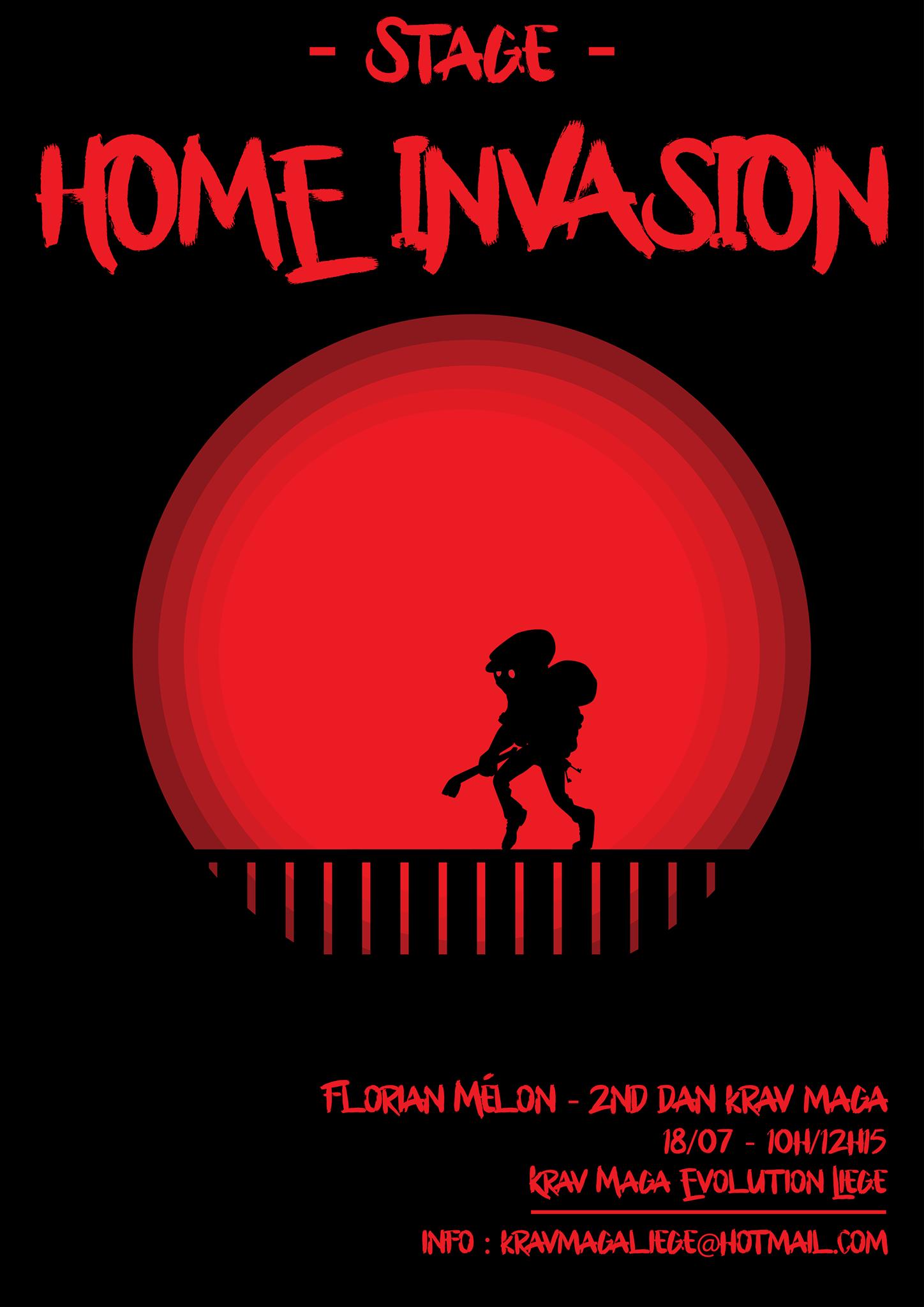 Stage krav maga home invasion
