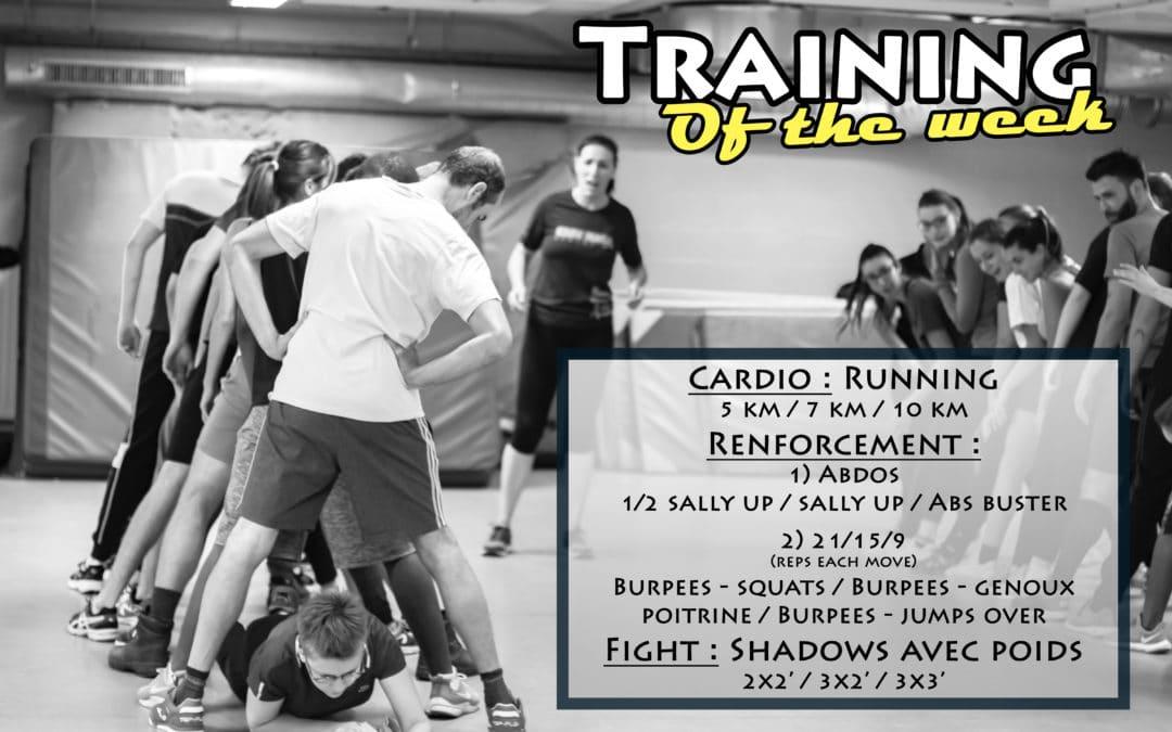 LOCKDOWN Training of the Week 1